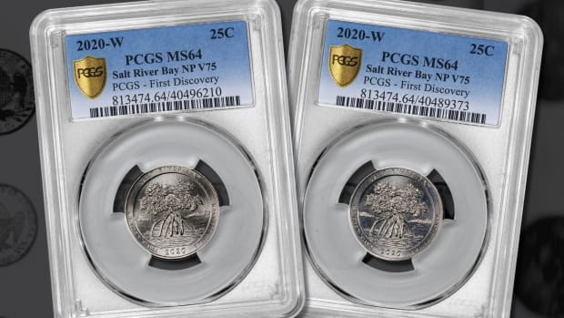 PCGS 2020 Salt River Bay winners