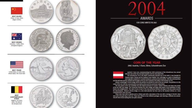 Order your copy of Coin of the Year today to see 30 years of amazing coin designs, concepts and innovations.
