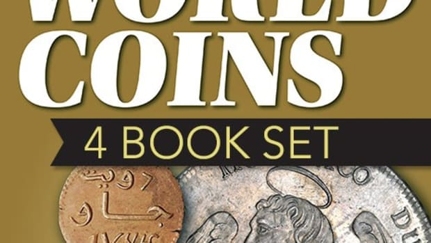 Order your four book Standard Catalog of World Coins set today!