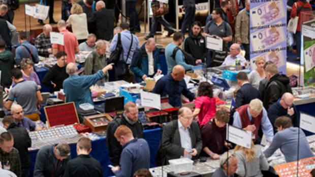 Collectors and dealers alike are missing their favorite coin shows, canceled due to the pandemic. (Photo by Andreas Schoelzel, courtesy of World Money Fair.)