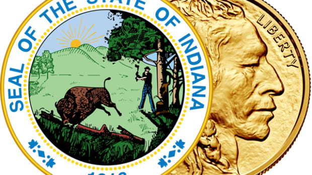 The Indiana House of Representatives passed HB 1046 on Feb. 23 by a vote of 94-0 for a sales and use tax exemption on the retail sale of bullion, coins and currency.