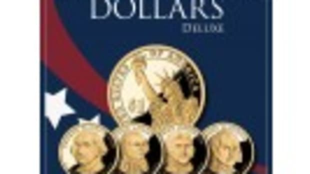 Presidential Dollar 2007-2016 Deluxe Collector's Folder