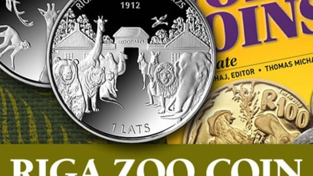 Get both the Riga Zoo Coin and the Standard Catalog of World Coins, 2001-Date paperback edition in this exclusive collection.