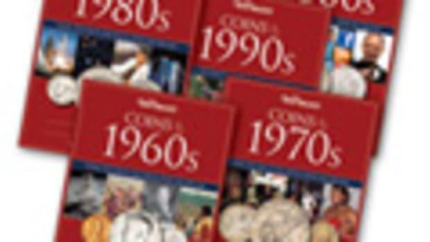 Warman's Coins of 1960s-2000s Decades 5-Folder Set