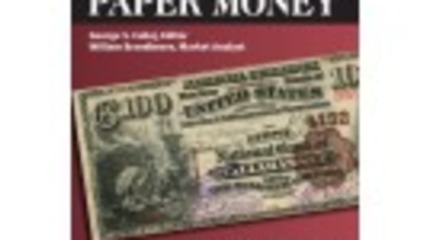 Click here for the only annual guide that provides complete coverage of U.S. Currency with today's market prices and presented in full color.