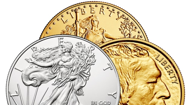 Gold and silver bullion prices have risen above the psychological thresholds of $1,100 for gold and $15 for silver.