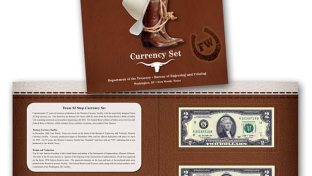 New from the Bureau of Engraving and Printing are two sets—one of which honors 25 years of production at the Western Currency Facility.