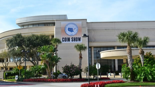 The 2020 FUN show will be held at the Orange County Convention Center in Orlando, Fla. (Image courtesy Florida United Numismatists, www.funtopics.com.)