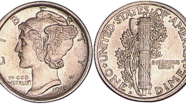 The Mercury dime first released on Oct. 30, 1916 and has remained a favorite series for collectors ever since.