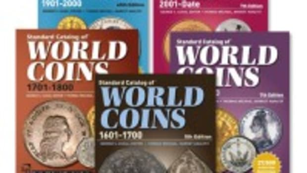 u4629 Standard Catalog of World Coins Book Set