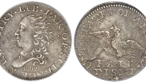 1792 half dime