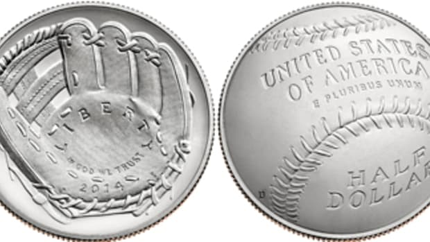 The Mint hit a home run with the 2014 cupped Baseball Hall of Fame coins. Could they eventually score a three-pointer with a 2019 cupped  basketball coin?