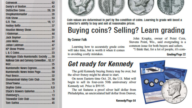 Read the latest issue of Numismatic News Express!