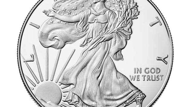 Shown is the American Eagle 2018 One ounce Silver Proof Coin with the Classic Lady Liberty design. . (Image courtesy of U.S. Mint.)