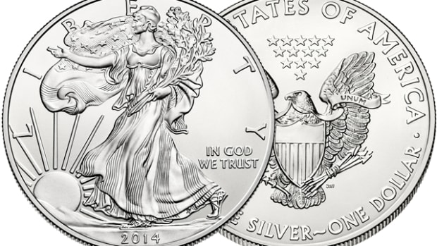 The silver Eagle may not be the best way to own bulk silver.