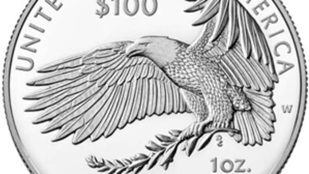 Platinum American Eagle Proof Coin