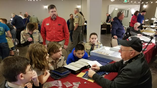 Troop 18 - Coin Show