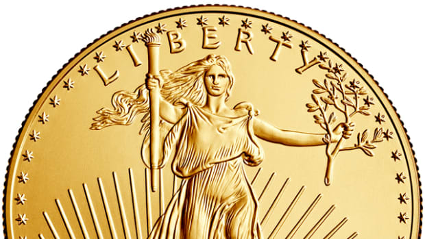 Gold Eagle sales are up