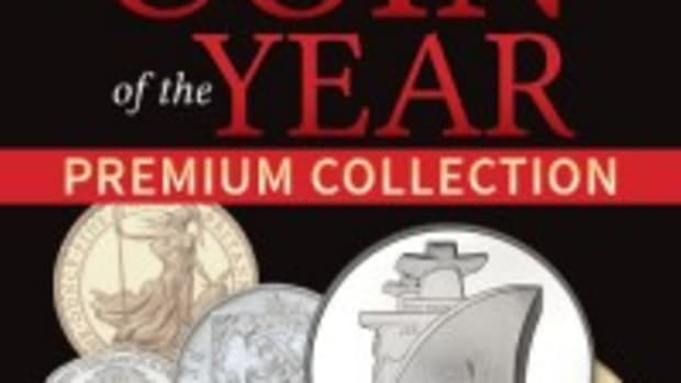 Order the Coin of the Year Premium Collection to see some world famous coins!