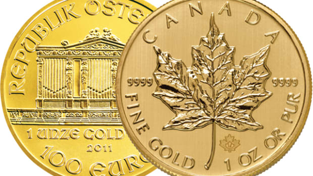Want gold? Consider buying world gold bullion coins and privately minted bars for lowest premiums.