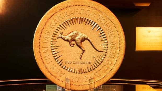 This numismatic wonder will be displayed outside the New York Stock Exchange on July 16. Image courtesy of