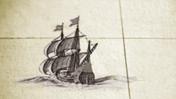 two historical sailing ships, 17th century galleons, are sailing under full sails.am anitque spanish atlas, 18th century, hand coloured engraving. beautiful aged paper. shallow DOF.during restoration of this classic masterpiece i had the unique chance to reproduce a good part of it under perfect conditions. there are complete maps as facsimile shots and delicate details.