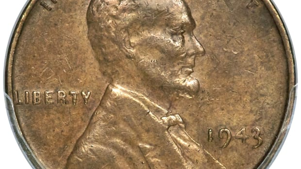 1943 Lincoln Cent Obverse