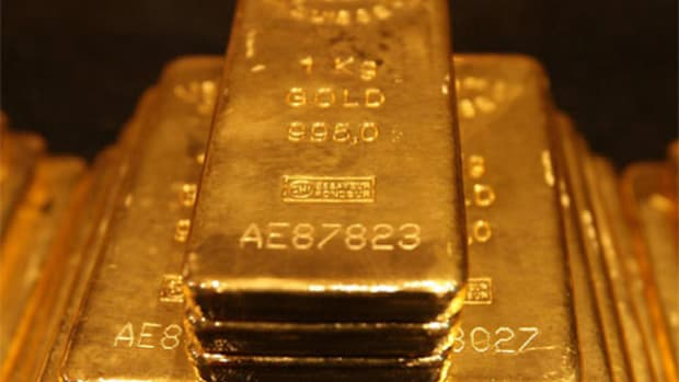 The price of gold is up 8 percent upon poor China stock preformance.