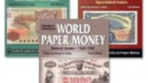 All three of the latest Standard Catalogs of World Paper Money in one package, for one low price.