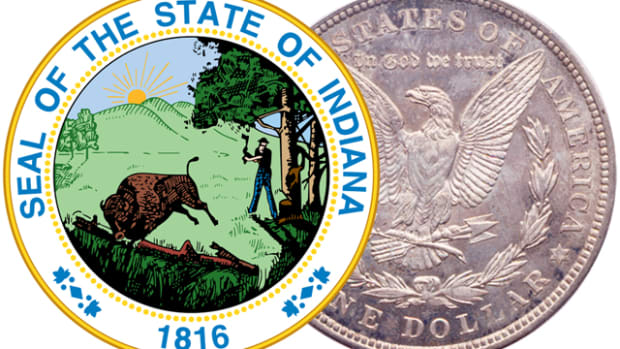 Indiana now joins 32 other states in providing a full or partial sales tax break for purchases of coins, paper money and bullion.