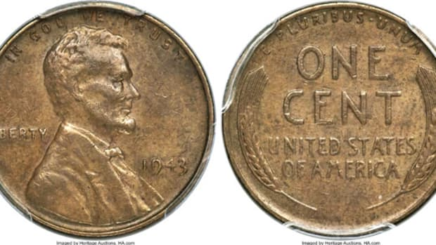 1943 Bronze Lincoln Cent