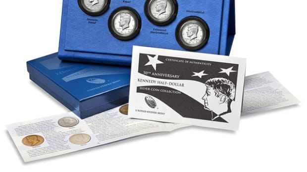 The silver Kennedy set went on sale Oct. 28, with most buyers attesting to easy ordering and fast shipping.