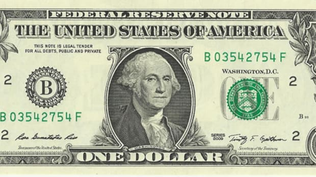 Could the dollar bill also be a color commemorative honoring Americana?