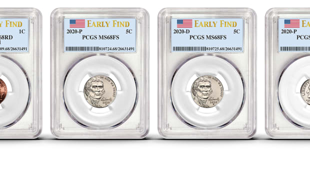 The PCGS Coin Quest 2020 Early Find. (All images courtesy Professional Coin Grading Service)