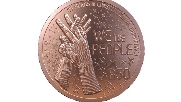Image courtesy of South African Mint