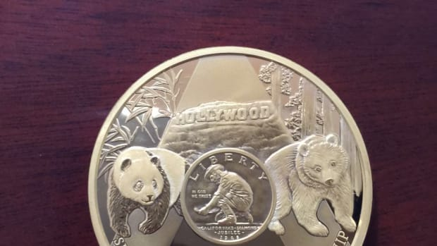 Sino-American Numismatic Friendship is celebrated by Panda.