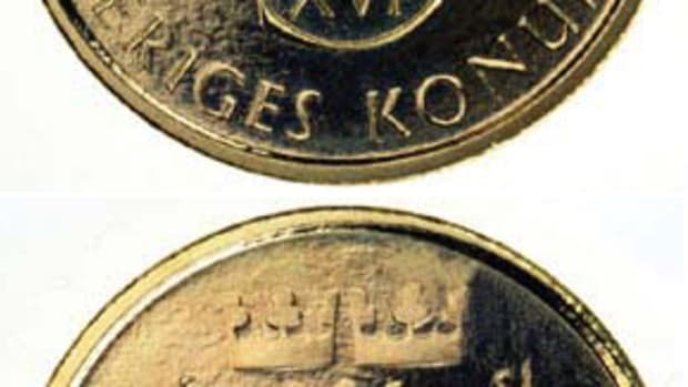 Swedish coins and bank notes may soon be something out of the past.