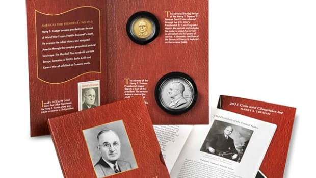 Experiences vary for those ordering the Truman Coin and Chronicles set.