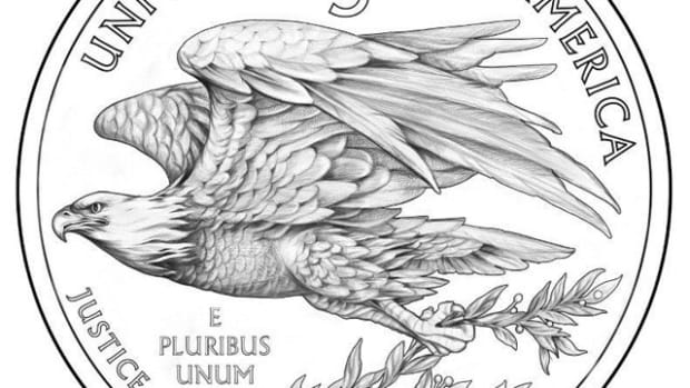 The new eagle would feature on the reverse of the 2015 UHR coin