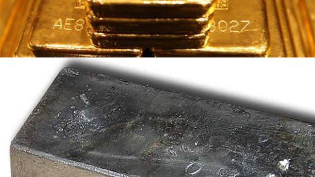 GoldSilverBarsVert