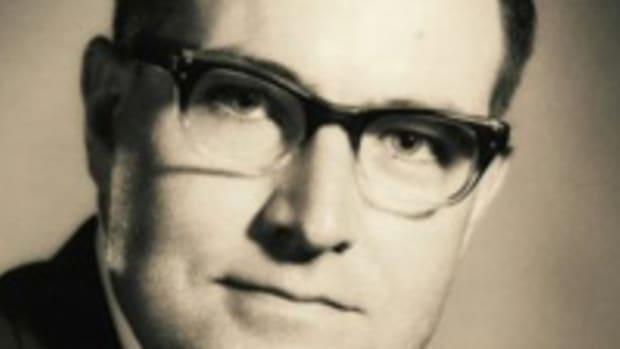 1974 portrait of Charles J. Ricard. (Image courtesy Linnea Ricard Brown.)