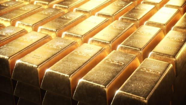 Gold bars, illustration