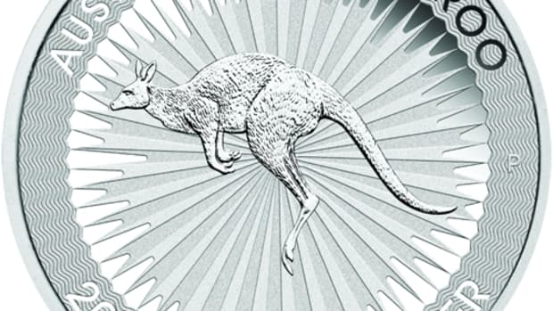 Buyers have snapped up 10 million 2016 silver kangaroo bullion dollars from the Perth Mint. (Image courtesy the Perth Mint.)