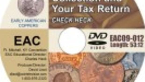 Your Coin Collection and Your Tax Return