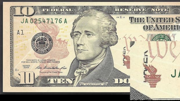 A pre-printed stock error worth $6,500 has been found on a Series 2009 $10 Federal Reserve Note.