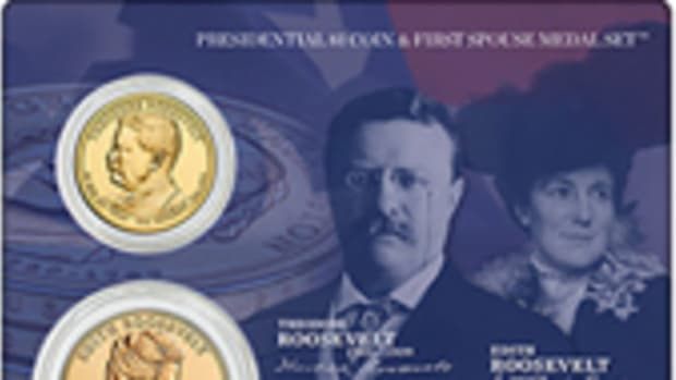 Roosevelt Coins and Medal Set