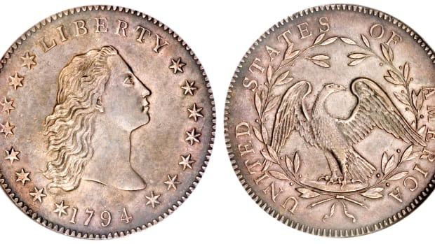 1794 pattern half disme.