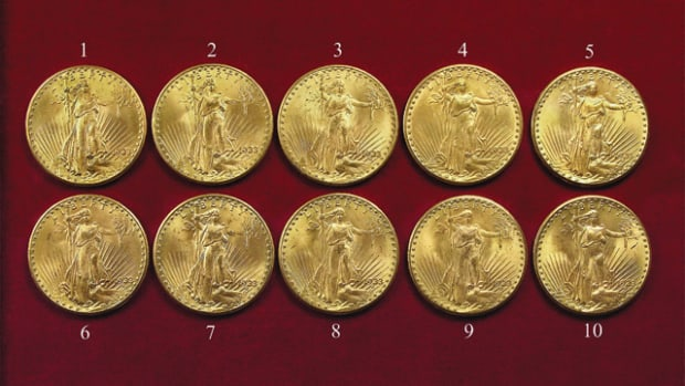 Ten 1933 $20 gold pieces should go back to the descendants of Philadelphia jeweler Israel Switt, an appeals court ruled.