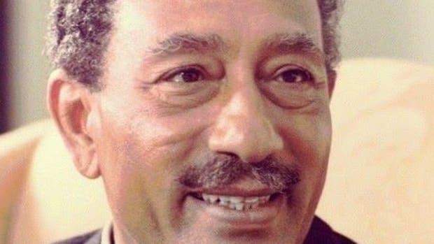 Anwar El Sadat. (Image transferred from ar.wikipedia to Commons. Original uploader: Prince UAE at Arabic Wikipedia. Ex. Wikimedia Commons)