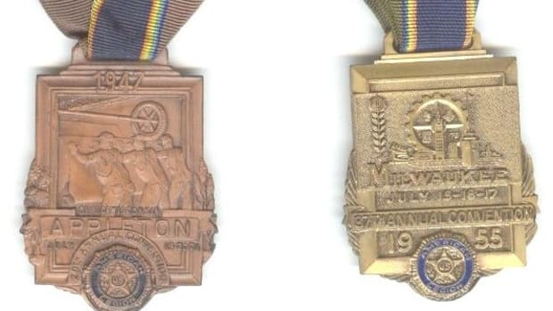 American Legion Convention Medals